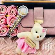 Gift Package Women Wallet+ Classic Watch+ 🌹+🧸+ Giftbox | Jewelry for sale in Dar es Salaam, Kinondoni