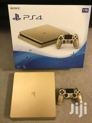 Playstation 4 PS4 Slim 1TB Gold Console Limited Edition With Original | Video Game Consoles for sale in Morogoro, Kimamba