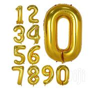 Birthday Parties Balloons Numbers-gold | Toys for sale in Dar es Salaam, Kinondoni