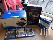 Sony Playstation 4 PS VR With Box And Free Games | Video Game Consoles for sale in Arusha, Arusha