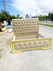 Golden Kings Size Bed 6×6 .   Furniture for sale in Dar es Salaam, Kinondoni