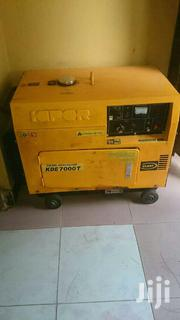 Generator. Kipor KDE 7000T   Electrical Equipment for sale in Morogoro, Mikese
