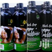 Black Soap Shampoo | Hair Beauty for sale in Dar es Salaam, Kinondoni