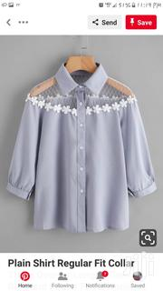 Blue Stipped Blouse | Clothing for sale in Dar es Salaam, Temeke