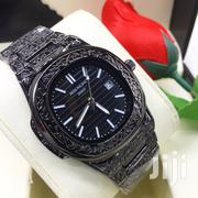 Black Engraved Watch | Watches for sale in Dar es Salaam, Kinondoni