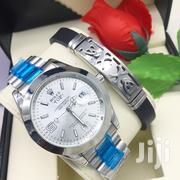 Silver Watch and Bracelet | Watches for sale in Dar es Salaam, Kinondoni