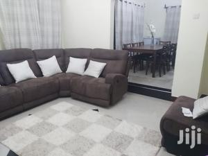 7 Seater L Shaped Sofa With Recliners