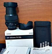 Sigma 24-105mm F/4 DG OS HSM Art Lens For Nikon F | Cameras, Video Cameras & Accessories for sale in Dar es Salaam, Kinondoni