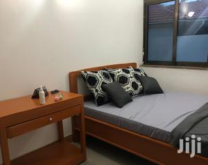 Double Bed + Comfortable Mattress + Bedside Table