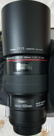 Canon Ef 100mm F/2.8L Macro Is Usm | Cameras, Video Cameras & Accessories for sale in Dar es Salaam, Kinondoni
