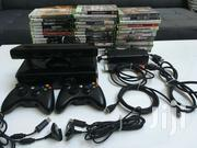 Microsoft Xbox 360 Slim-250 GB+72 Games+Kinect +2controllers | Video Game Consoles for sale in Dar es Salaam, Kinondoni