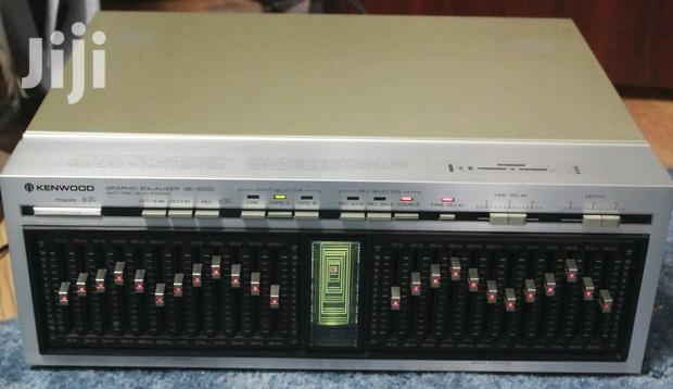 Archive: Kenwood GE-1000 12 Band Graphic Equalizer