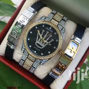 Pack Of 2 Bracelets And Watch | Watches for sale in Dar es Salaam, Kinondoni