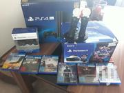 Sony Playstation 4 Pro + 1TB + 2 Controls + 5 Games + PS Camera | Video Game Consoles for sale in Arusha, Arusha
