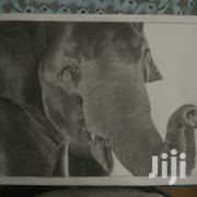 Elephant A3 Size High Quality Graphite Art | Arts & Crafts for sale in Kilimanjaro, Moshi Urban