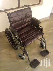 Wheelchair*Heavy Duty*Max 136kg | Medical Equipment for sale in Dar es Salaam, Kinondoni