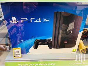 Playstation 4 Pro With Controller And Box