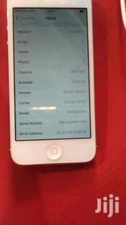 Apple iPhone 5s 16 GB Silver | Mobile Phones for sale in Kigoma, Kigoma Rural