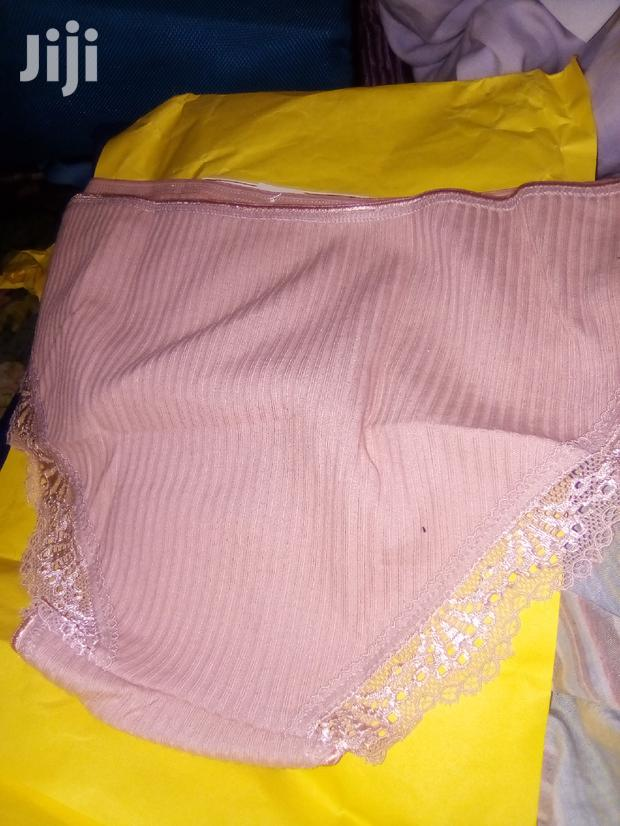 Archive: Hot Style Stripped Cotton Lace Panties