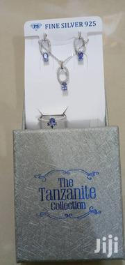 Silver 925 With Tanzanite Stone Set | Jewelry for sale in Dar es Salaam, Ilala